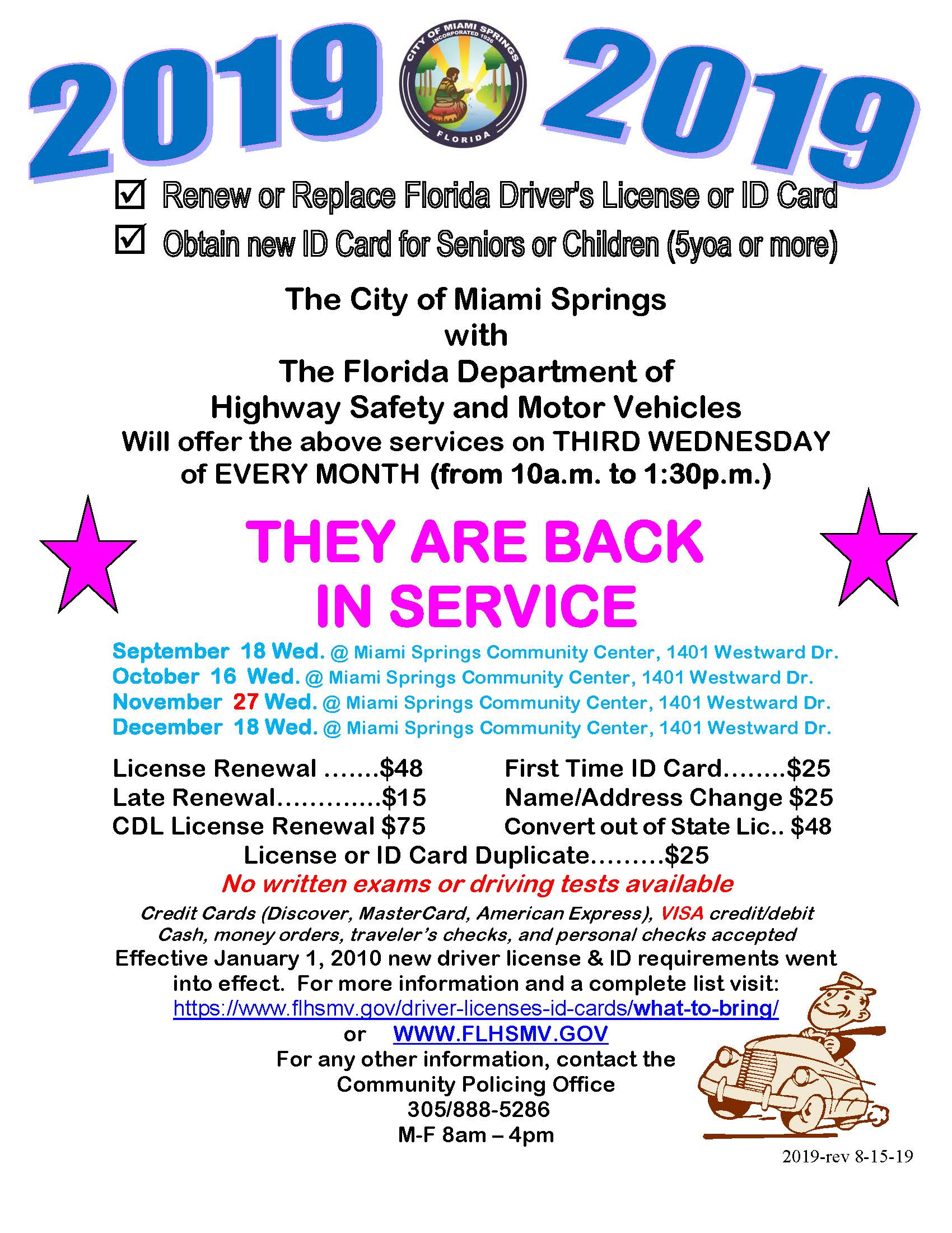 Florida Driver's License Renewal & Replacement Service