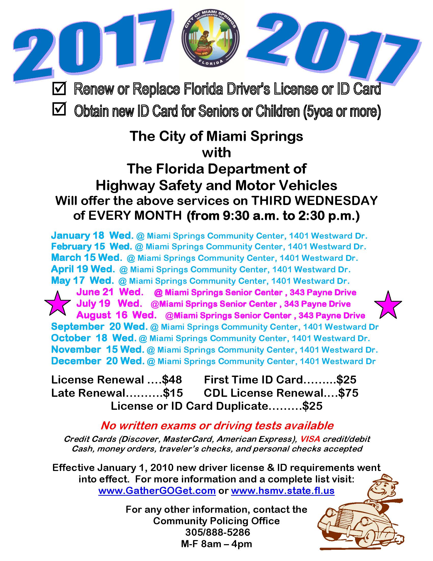 Department of motor vehicles license renewal for Florida department of motor vehicles contact number