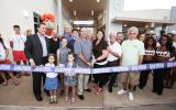 Ribbon Cutting for Aquatic Center - July 1, 2016