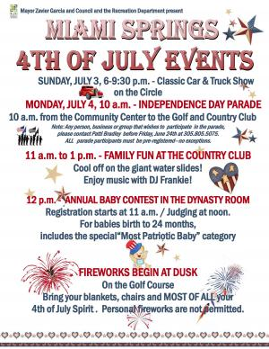 miami springs july 4th flyer