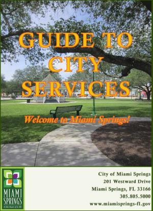 2016 Guide to City Services