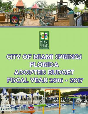2016-17 Adopted Budget