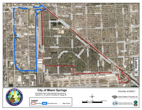Miami Springs Florida Map.Annexation Fact Sheet City Of Miami Springs Florida Official Website