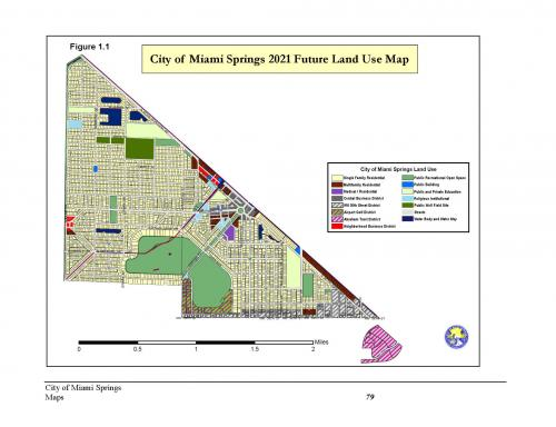 Miami Springs Florida Map.Miami Springs Future Land Use Map City Of Miami Springs Florida