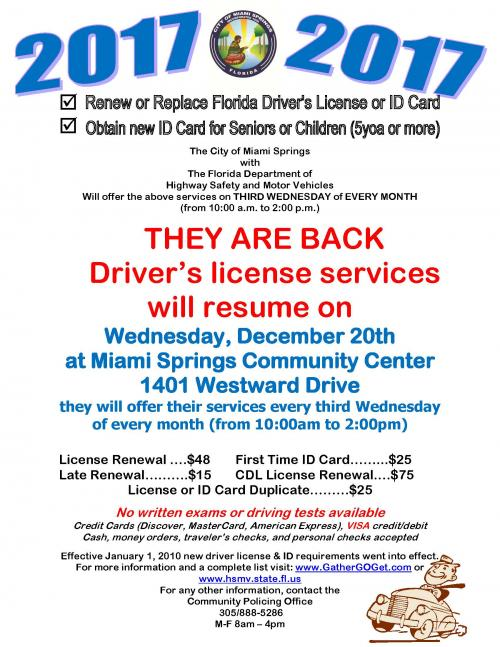 Department of motor vehicles miami for Florida highway safety and motor vehicles phone number